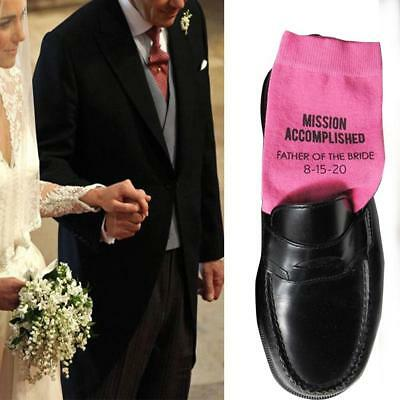 Wedding Party Socks Groom Socks Father of Bride Gifts Man Socks Winter Socks