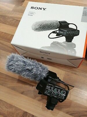 Sony XLR-K2M input adaptor and ECM-X1 microphone