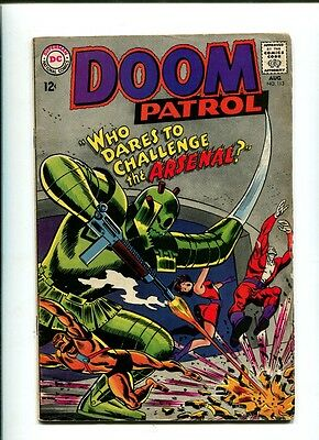DOOM PATROL 113 DC 1967 1st App ARSENAL Negative Man Elasti-Girl BEAST BOY