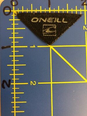 O'Neill Logo Patch Tag Triangle Surfing Surfboard Apparel California Surf Brand