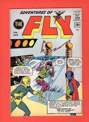 Adventures of the Fly #24  -  Archie Comics, 1963 - !    -- --  FN/VF  cond.