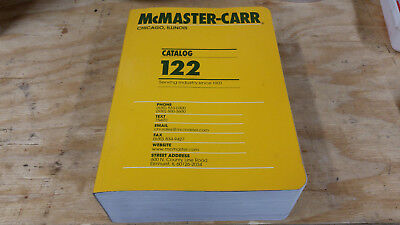 McMaster-Carr Catalog 122 Chicago, Illinois Edition