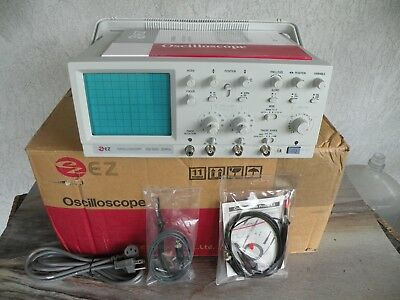 New in Box EZ Oscilloscope OS-5020 20MHz 115v 45w with Probes