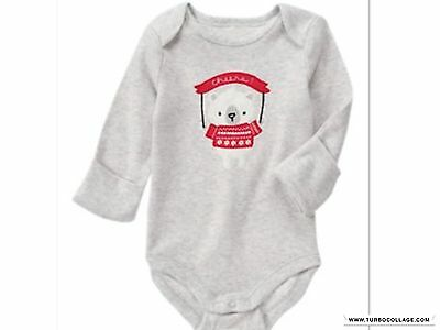 GYMBOREE Holiday Shop Top NWT  SIZE 6-12 MONTHS
