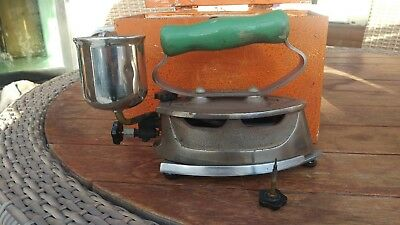 Vintage original  50s - Pumpless hand Iron, - HANDI WORKS Pty Ltd