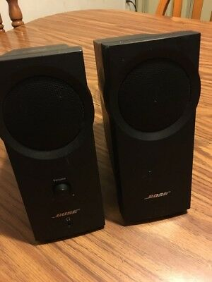 Bose Companion 2 Series I Multimedia Speaker System Black| Computer Speakers