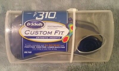 Dr Scholl's Custom Fit Orthotic Inserts Insoles CF 310 CF310 Foot Mapping