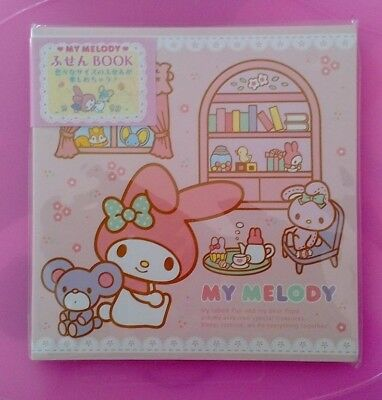 Sanrio My Melody Sticky Notes Tabs From Japan Book of Sticky Notes