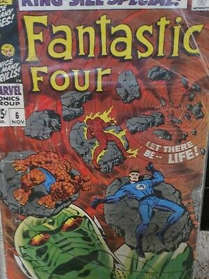 Fantastic Four Annual #6 (Nov 1968, Marvel)  First Appearance of Annihilus