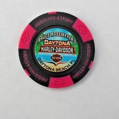 Harley Davidson Poker Chip  Daytona Beach Florida  New  2018 Summer Edition