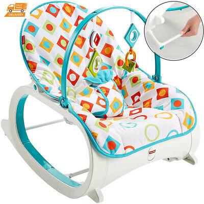 Baby Activity Cradle Chair Infant Rocker Playing Sleeping Swing Vibrator Bouncer