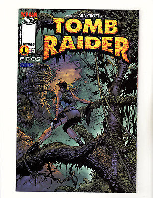 Tomb Raider: The Series #1 (1999, Image) VF/NM David Finch Variant Top Cow