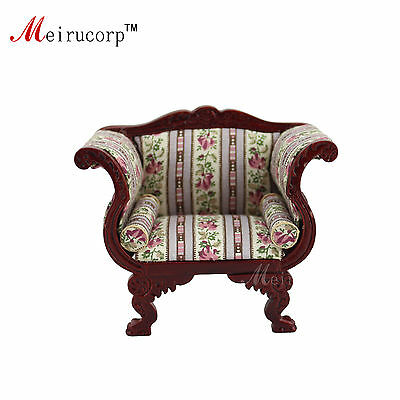 Dollhouse 1:12 scale Miniature furniture Luxurious Living room Chair