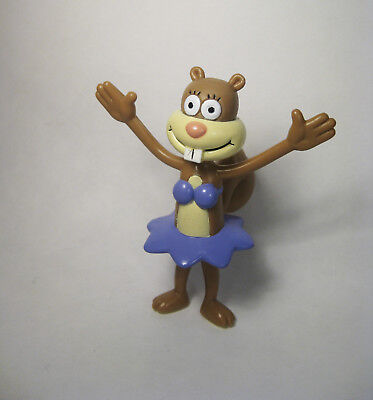 2001 SPONGEBOB FIGURE - SANDY - BRAND NEW CONDITION - VTG Nickelodeon Squirrel