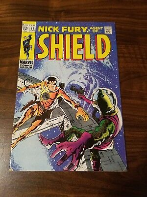 Nick Fury, Agent of SHIELD #11 (Apr 1969, Marvel)