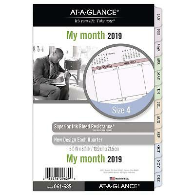 AT-A-GLANCE Day Runner Monthly Planner Refill, January 2019 - December 2019, x