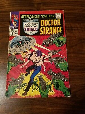 Strange Tales #153 (Feb 1967, Marvel)