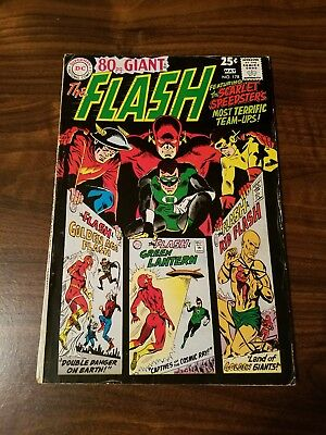 The Flash #178   ~Golden Age Flash & Kid Flash~   Giant Size.   1968