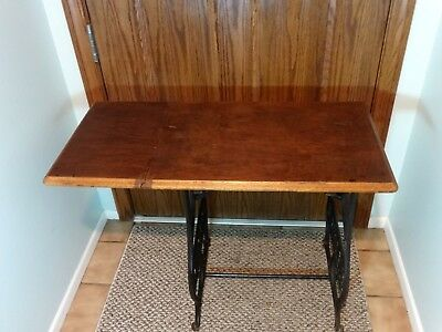 Caligraph Typewriter cast iron typewriter stand table 1880's