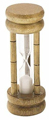 KitchenCraft Wooden 'Hourglass' Sand Timer / Egg Timer (3 Minutes)
