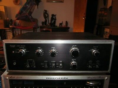 Sansui Au-6500 Stereo Integrated Amplifier Rare Vintage 70's Stereo Works