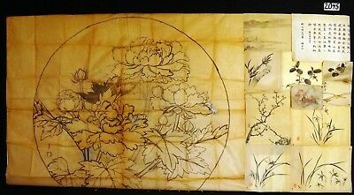 11x 19C/20C Japanese Mixed Lot Paintings, Drawings, Calligraphies (HMA) #2045
