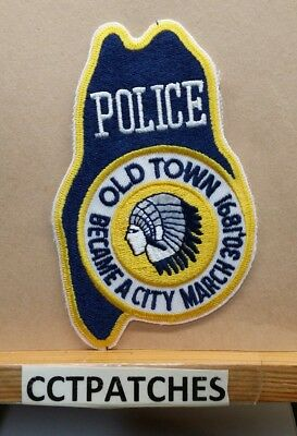 Old Town, Maine Police Shoulder Patch Me