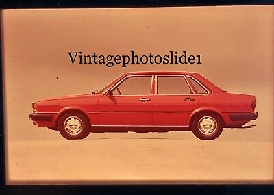 Photo Slide/negative Audi 80 GLS Photographic Images Collectibles