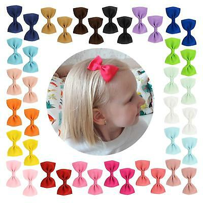 YHXX YLEN 20Pcs Small Baby Hair Bows Ribbon Clips for Girls Toddlers Kids 643 20