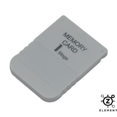 1Mb Memory Card For Sony Playstation 1 Ps1 Psx 15 Blocks - New