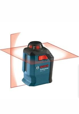 *BRAND NEW BOSCH 360 LINE AND CROSS LASER/ 65ft RANGE/ GLL 2-20 S* FREE SHIPPING