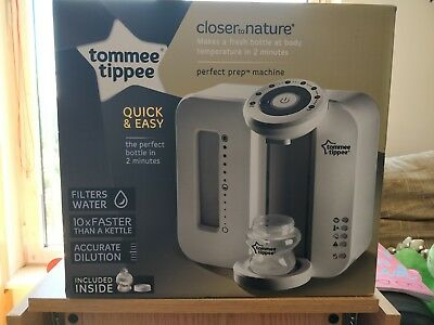 Tommee Tippee Closer To Nature Perfect Prep Machine - Baby bottle formula maker