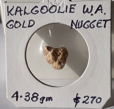 GOLD NUGGET 4.38g