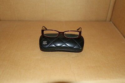 Chanel Reading Glasses Main Colour Maroon Red