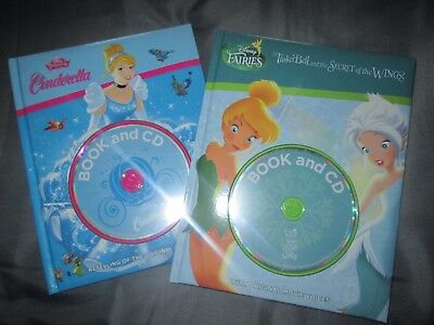 Disney books with CDs. Cinderella. Disney Fairies
