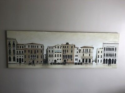 Extra Large Canvas Painting (Venice)