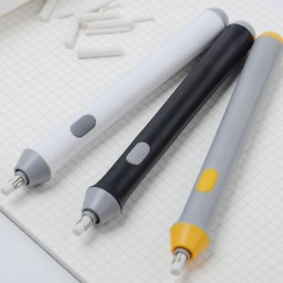 3 Colors Handy Electric Battery Operated Pencil Eraser Rubber Out Pen Supplies