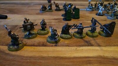 games workshop lord of the rings dwarf collection. all metal OOP
