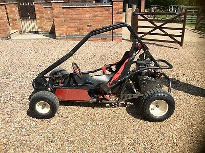 Murray Motorsport Off Road Petrol Go kart. Suitable  for aged 10 years and up.