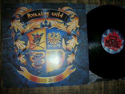 mint  RUNNING WILD Blazon Stone ´91 LP VINYL  EMI NOISE RECORDS ( heavy Metal Ge