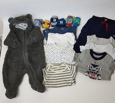 Baby Boy Winter Bundle 0-3months