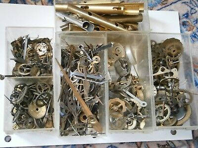 1kg  Watch Spares clock Gears Cogs Parts hands Wheels Watchmaker Steampunk craft