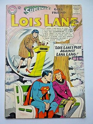 Superman's Girl Friend Lois Lane 50 1964 DC Comics Silver Age