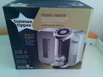 Tommee tippee closer to nature prep machine brand new