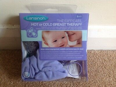 Lanisoh Breast Therapy Therapearl 3-in-1 Hot/Cold Breast Therapy