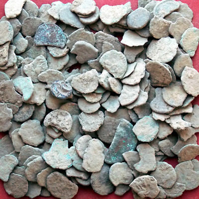 Mix Lot Of  101 Cull, Partial & Fragments Of Roman Coins & Bonus Coins Added