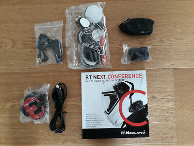 Helm Bluetooth Headset Midland BT Next Conference C1141.01