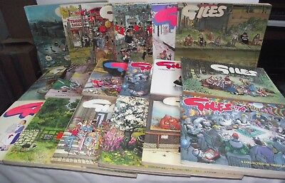 Giles Cartoons Vintage Annuals x17 (..see Item description for further details)