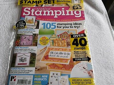 Creative Stamping Magazine with Apple Blossom Stamps