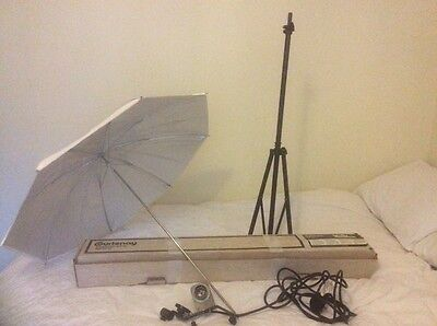 Courtenay Brolly Flash Kit Photographic Lighting(Please Pay On Collection)